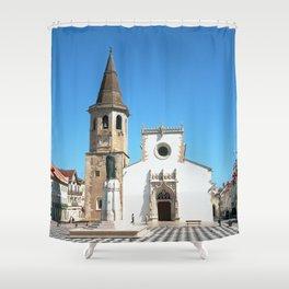 Tomar, Portugal (RR 189) Analog 6x6 odak Ektar 100 Shower Curtain