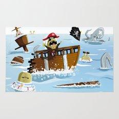 Pirates Rug