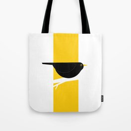 Turdus Merula 02 Tote Bag