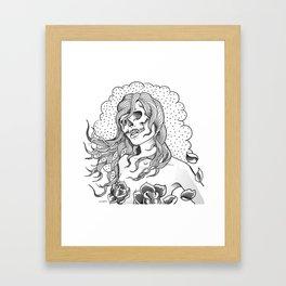 I Want Your Skull Framed Art Print