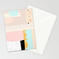 On the wall#3 Stationery Cards