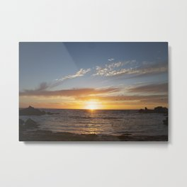 My favorite color is sunset Metal Print