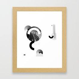 Near yet far Framed Art Print