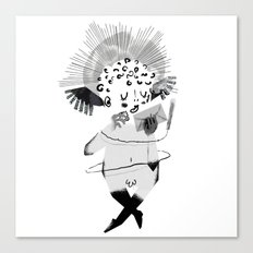 Mailing Angel Canvas Print