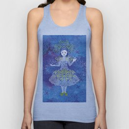 Bilberry queen Unisex Tank Top