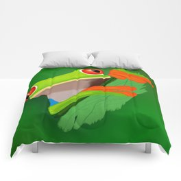 Red-eyed tree frog Comforters