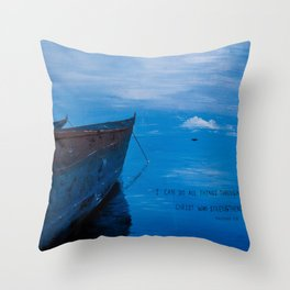 African Waters II Throw Pillow