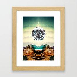 Orbital Sea Framed Art Print