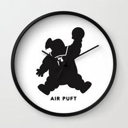 Air Puft: Stay Puft Marshmallow Man Wall Clock