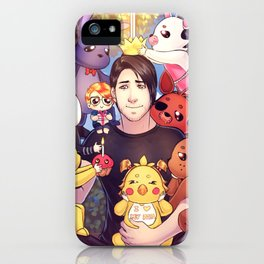 I WILL ALWAYS REMEMBER THIS - Markiplier + FNAF iPhone Case
