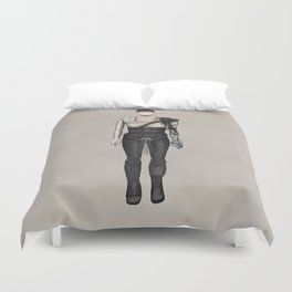 Furiosa without a face (MadMax) Duvet Cover