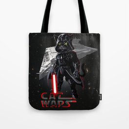 Cat Darth Vader  Tote Bag