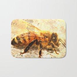Bee dreaming Bath Mat