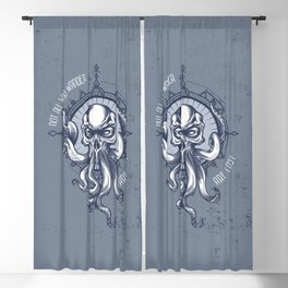 Not all who wander are Lost - Octopus Blackout Curtain