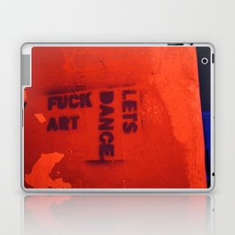 Photograph of graffiti at a squatters' house in Zagreb, Croatia Laptop & iPad Skin