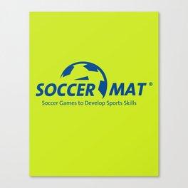 SoccerMat Logo Canvas Print