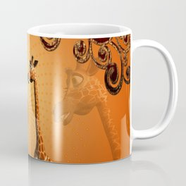 Funny cartoon giraffe Coffee Mug