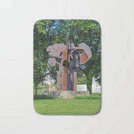 Richard T Gosser Memorial by Donald Drumm-vertical Bath Mat