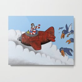 You'll never fly alone Metal Print