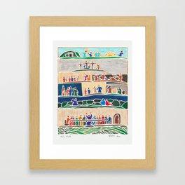 Holy Week Framed Art Print
