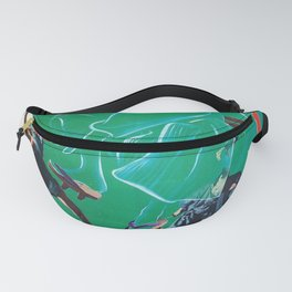 The Invisible Swordsman Fanny Pack