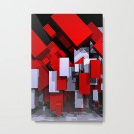 boxes - portrait format Metal Print