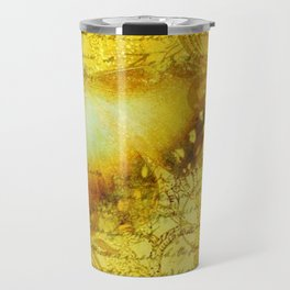 LE PAPILLON | yellow Travel Mug