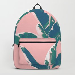 Ficus Elastica Finesse #3 #tropical #foliage #decor #art #society6 Backpack