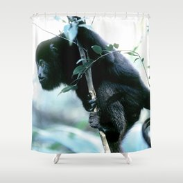 Howler Monkey in Costa Rica Shower Curtain