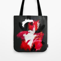cracked Tote Bags featuring Cracked by Daniel Malta