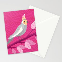 Bright Bird Portrait Stationery Cards