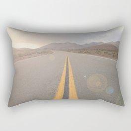 The Road Ahead Rectangular Pillow