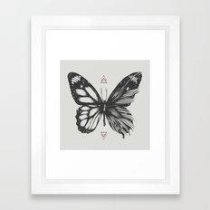 Delicate Existence Framed Art Print