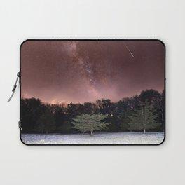 Milky Way Meteor Field Laptop Sleeve