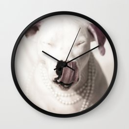 Lita Tongue Wall Clock