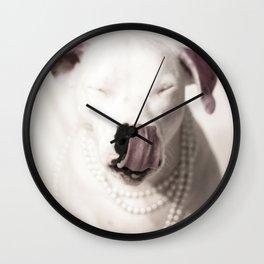 Lita Tongue Wall Clock