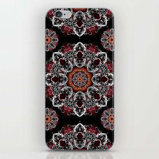 Power Mandala iPhone & iPod Skin