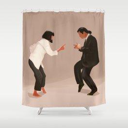 Pulp Fiction Shower Curtain