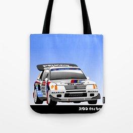 Peugeot 205 T16 Turbo  Tote Bag