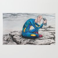 spaceman Area & Throw Rugs featuring Spaceman by Neal Julian