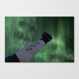The Dark Mark Canvas Print