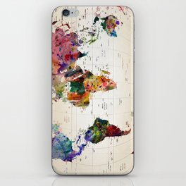 map iPhone Skin