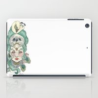 anxiety iPad Cases featuring Anxiety by Melissa Smets