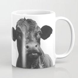Western Black Angus Cow Portrait Coffee Mug