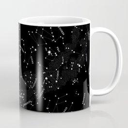 Constellation Map - Black Coffee Mug