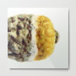 Rotting lemon Metal Print