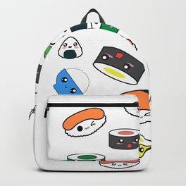 Funny Kawaii Sushi design Gift for Japanese Anime fans Backpack