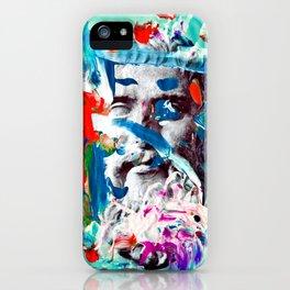 Plato painto iPhone Case