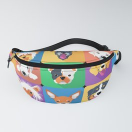 Facedogs Fanny Pack