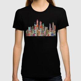 kansas city Missouri skyline T-shirt